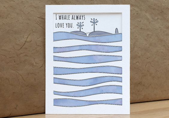 Funny valentine - Cute Valentine's Day card by ShojiNote on Etsy
