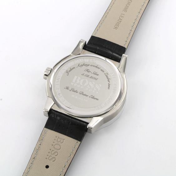 Personalisierte Uhren, Schmuck und Accessoires. Mache mit einer Lasergravur eine Uhr zu deiner Uhr, einen Geschenkartikel zu deinem persönlichen Geschenk