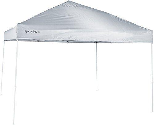 Amazonbasics Pop Up Canopy Tent 10 X 10 White All4hiking Com Pop Up Canopy Tent Canopy Tent Canopy