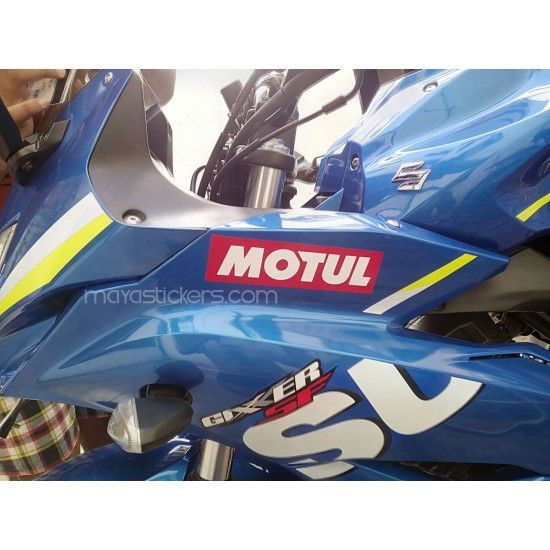 Ecstar Logo Sticker For Suzuki Gixxer Sf Suzuki Gixxer Sf - Suzuki motorcycles stickers
