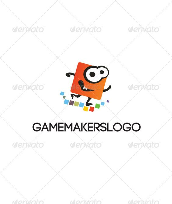 Game Makers Logo Template  #GraphicRiver        Logo Template dedicated to game makers. Funny design, fully resizable vector graphics + PSD Smart Object. Font used:  .dafont /code.font Enjoy.     Created: 31May13 GraphicsFilesIncluded: PhotoshopPSD #VectorEPS #AIIllustrator Layered: No MinimumAdobeCSVersion: CS Resolution: Resizable Tags: blocks #colorful #funny #game #games #logo #makers #red