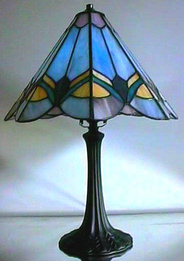 Blue lamps lamps and head to on pinterest - Artistic d lamp shade designed with modern and elegant shape style ...