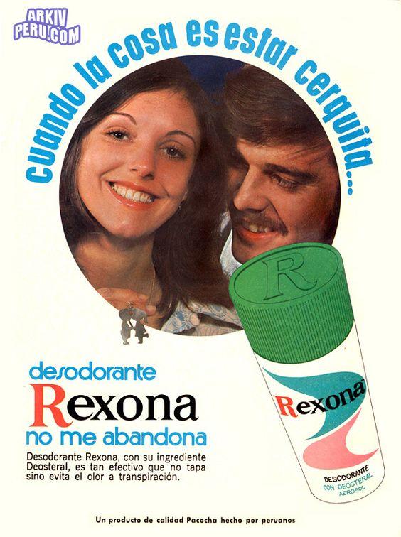 Jabón Rexona 1975