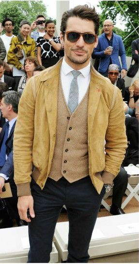 how to wear suede for men