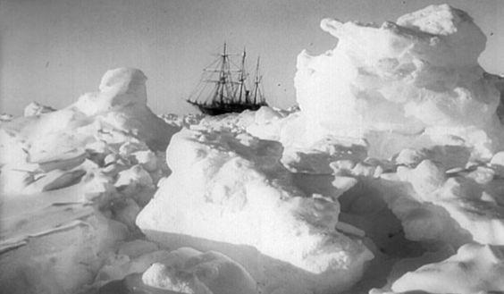 Shackleton via 'Le Dernier Continent'