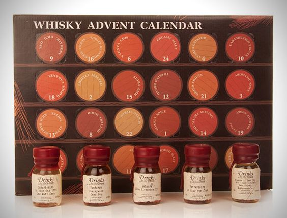 Count Down Christmas With Whiskey Advent Calendar