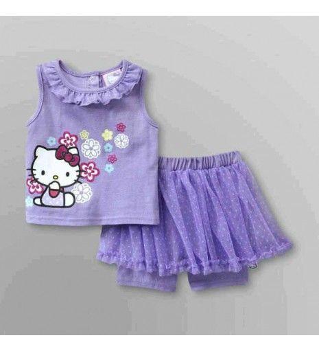 Baju Hello Kitty Anak Perempuan