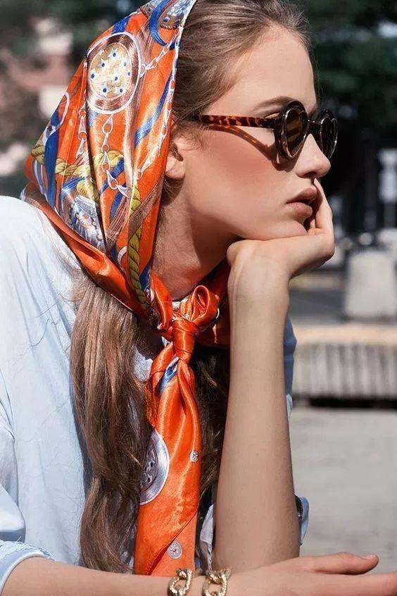 Como usar bandana e lenço no cabelo? Looks para se inspirar! - Kimcrível