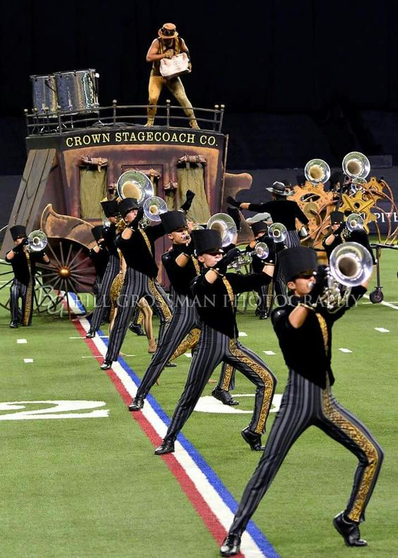 2016 Carolina Crown - let's see a Broadway show producer reproduce this show!  It was so much fun to watch and what a sound!  Love our SC neighbors down here in Nashville.