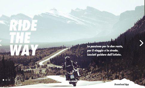 weRide e Ride the way: due applicazioni per motociclisti Itinerari, amicizia, due ruote ed è già vacanza per un motociclista