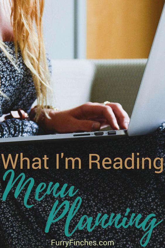 What I'm Reading: Menu Planning