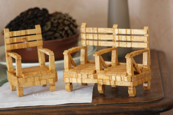 pingle linge pingle a linge et b ton pop sicle pinterest. Black Bedroom Furniture Sets. Home Design Ideas