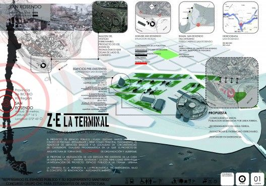 laminas arquitectura concurso - Buscar con Google