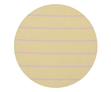 Sousplat Nina Stripes Amarelo - 34X34cm