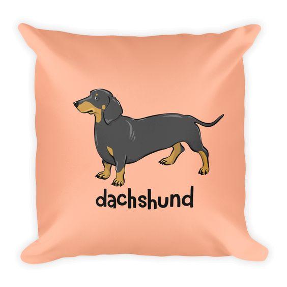 Dachshund Pillow