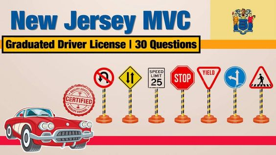 New Jersey MVC Graduated Driver License GDL Practice Test