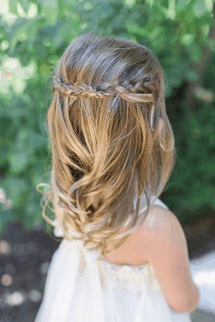 Coiffures de petites filles : 15 photos trop mignonnes ! - Tendance coiffure