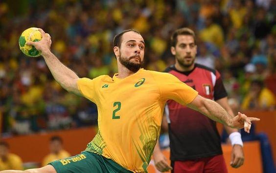Brasil empata com Egito no handebol masculino - Rio 2016