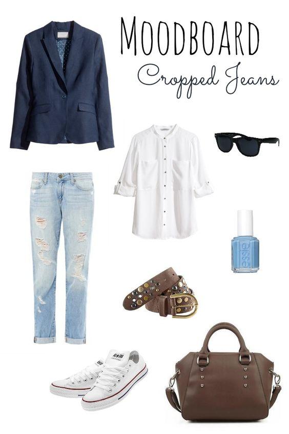 Moodboard: Cropped Jeans.
