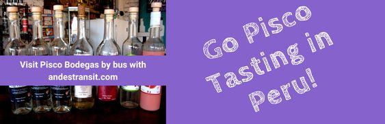 Go Pisco tasting in Peru