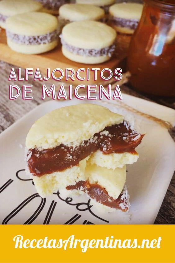 Alfajores De Maicena Recetas De Cocina Argentina Fáciles Receta Para Hacer Alfajores Recetas De Cosas Dulces Alfajores De Maicena