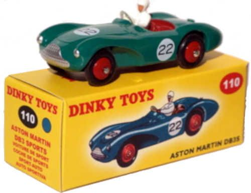 Diecast Dinky Atlas 110 Aston Martin Db5 New Or Updated At Www Diecastplus Info