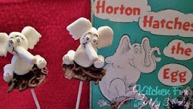 Horton Hatches The Egg-pops from marshmallows how to DIY