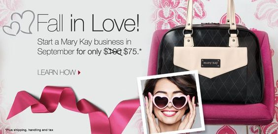 I'm so excited to be part of such a huge beauty empire. So can you... Start a Mary Kay Business in September for Only $75! Learn How >>> www.marykay.com/lnguyen503 #marykay #skincare #cosmetics #business #trends #deals