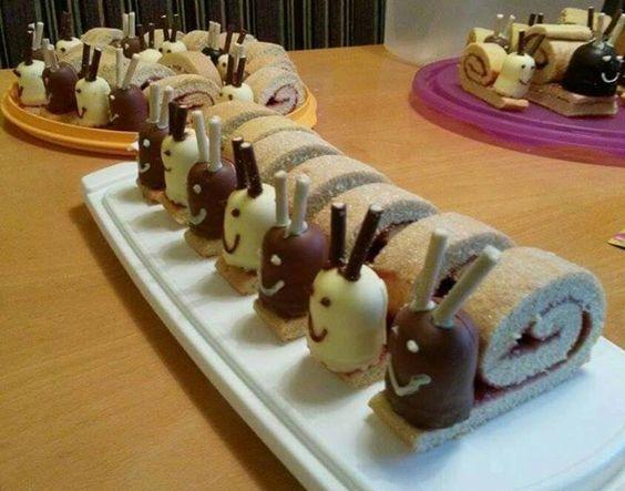 Schnecken-Kuchen: