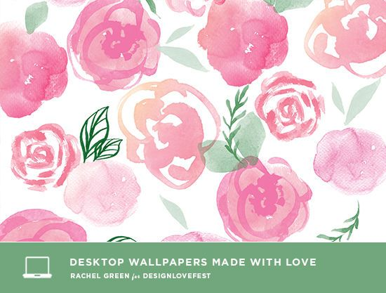 Free desktop wallpapers by Printed Ink Designs featured on Design