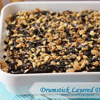 Drumstick Layered Dessert Recipe - Melissa's Southern Style Kitchen & ZipList