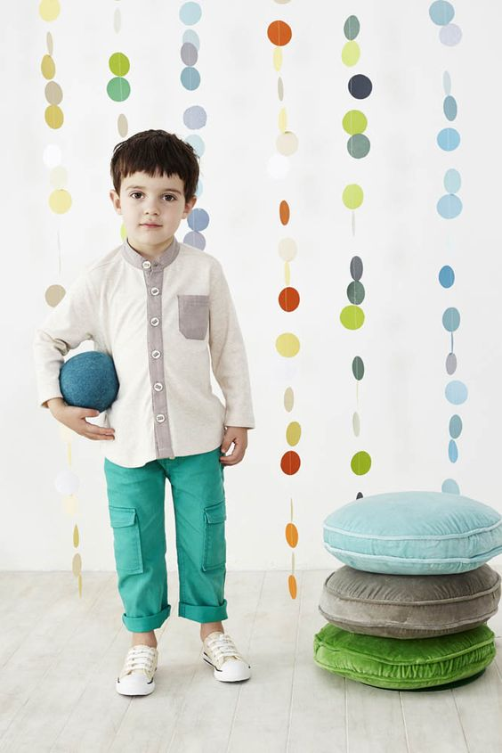 Oatmeal Knit Shirt - Baobab Clothing