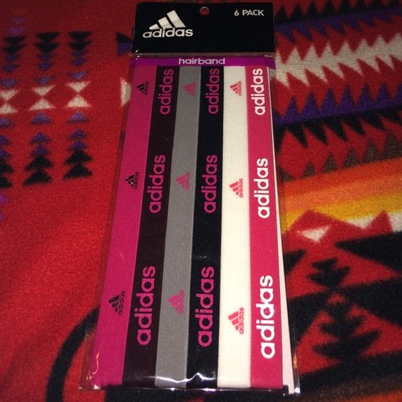 Adidas Headbands Pack of 6 Brand new Adidas Headbands Adidas Accessories Hair Accessories