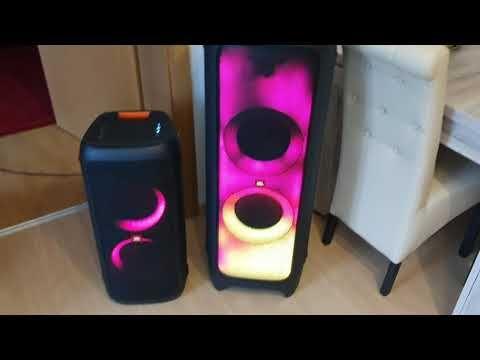 Jbl Partybox 1000 Vs Jbl Partybox 300 Magyarul Youtube