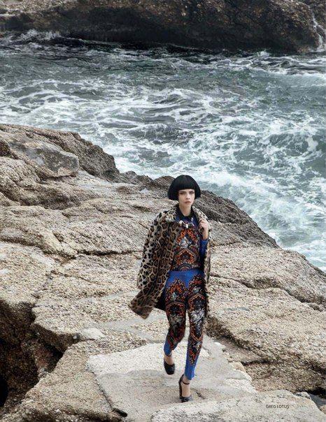 Cara Delevingne - Vogue Magazine