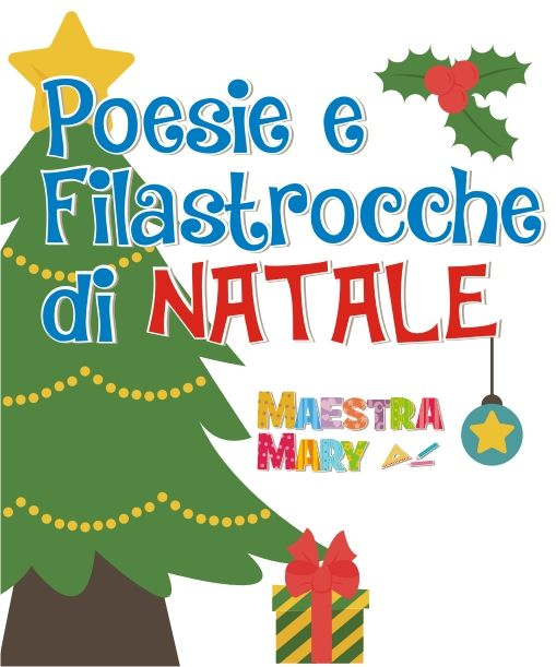 Poesie E Filastrocche Di Natale Natale Filastrocche E Brevi Poesie