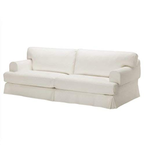 Replace Cover For Ikea Hovas Three Seat Sofa 100 Cotton Sofa Cover White Review Sofa Cotton Sofa Covers Three Seat Sofa