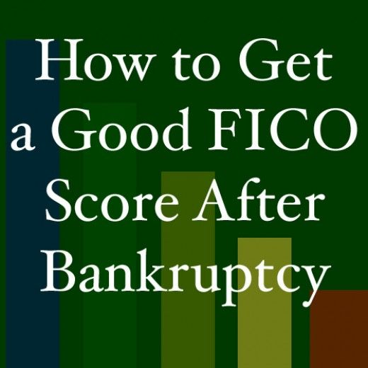 An article that shows you some simple ways to get a good FICO score after bankruptcy.