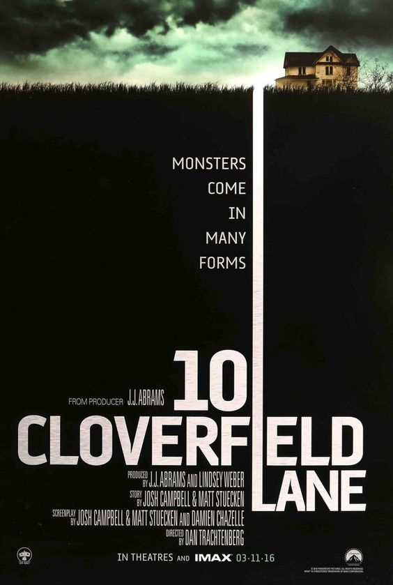 10 Cloverfield Lane (2016) movie poster