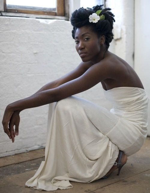 17 Awesome Natural Hairstyles For Weddings Madamenoire