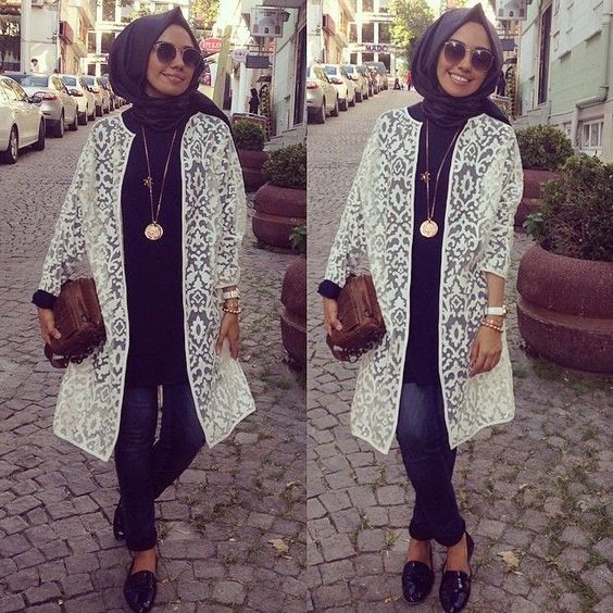 Hijab Fashion 2016 2017 H Lya Aslan Hijabs Mode