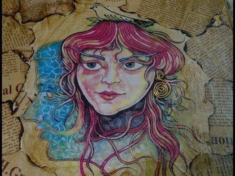 فن الكولاج فى علاقة مفاتيح حصرى Art Zelda Characters Character
