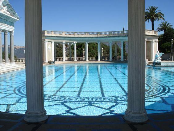 Calming pool...
