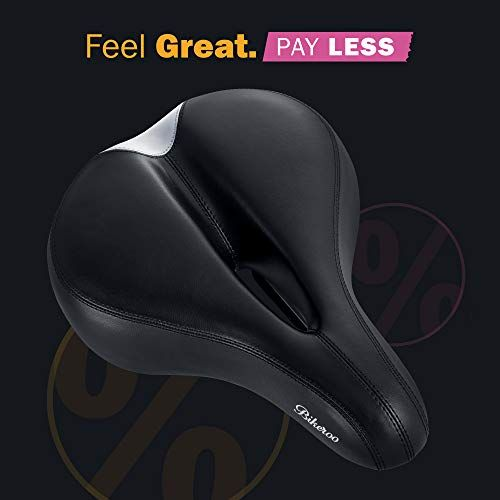 Most Comfortable Bike Seat For Women Padded Bicycle Saddle With