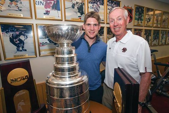 Boston College Athletics recently welcomed Ben Smith '10, now a member of the NHL champion Chicago Blackhawks http://www.payscale.com/research/US/School=Boston_College/Salary