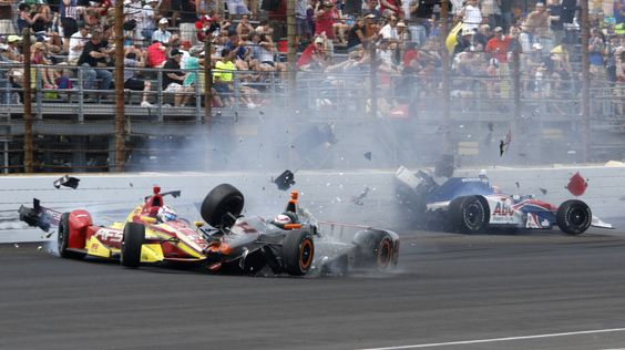 No cars airborne during Indy 500, but safety questions remain Indy 500  #Indy500