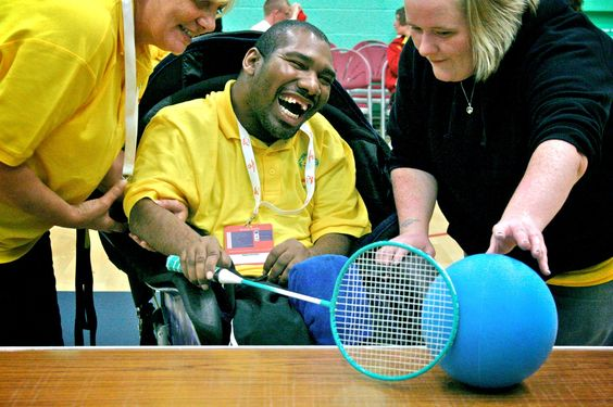 Special Olympics Motor Activity Training Program....it is ...