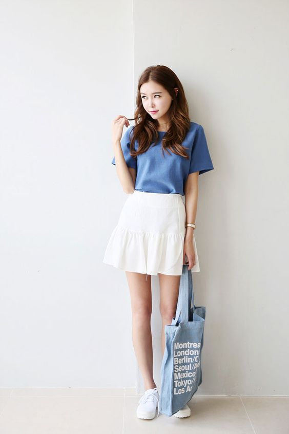 Summer Skirts And Ulzzang On Pinterest