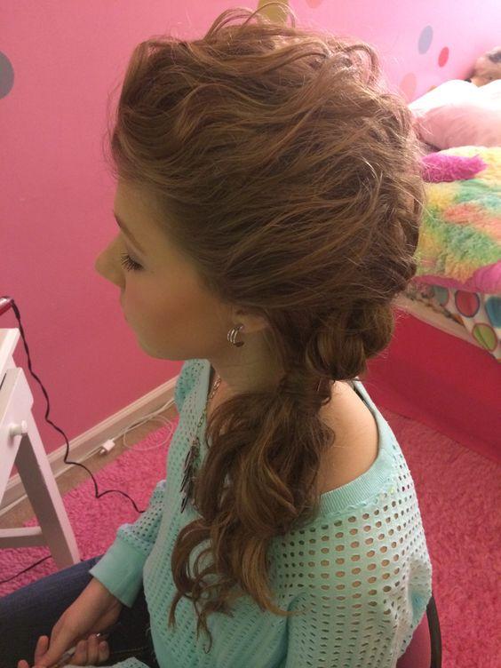 #hairtrends #athomestyle #waterfallbraid