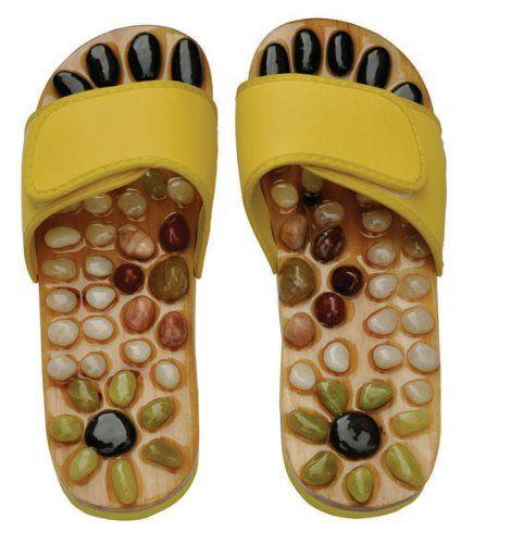 Amazon.com: Reflexology Sandals - Natural Stone Massage Shoes and Sandals: Shoes
